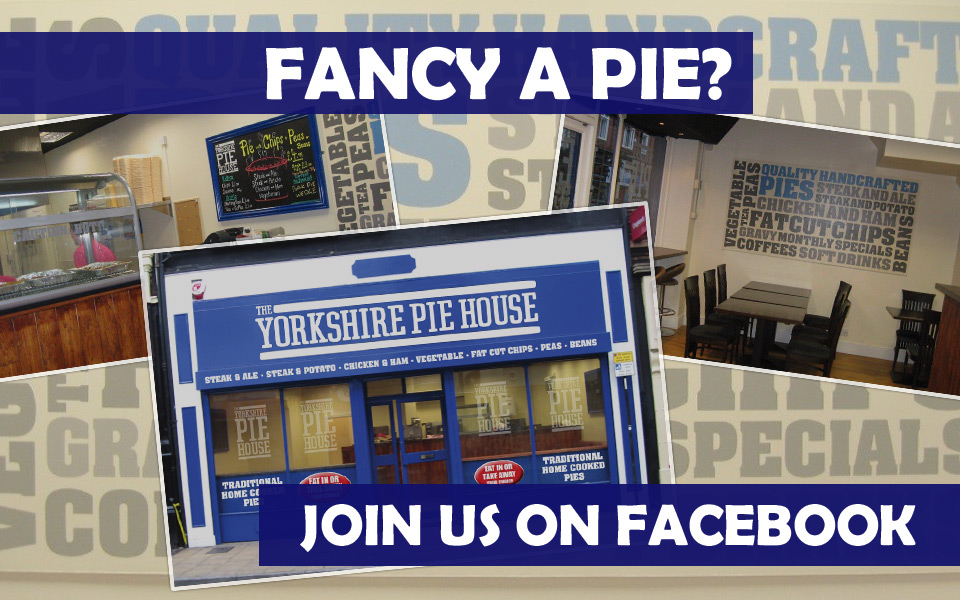 Fancy a Pie? Join us on Facebook